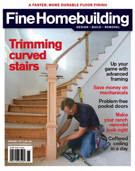 Fine Homebuilding Cover - 1/1/2017
