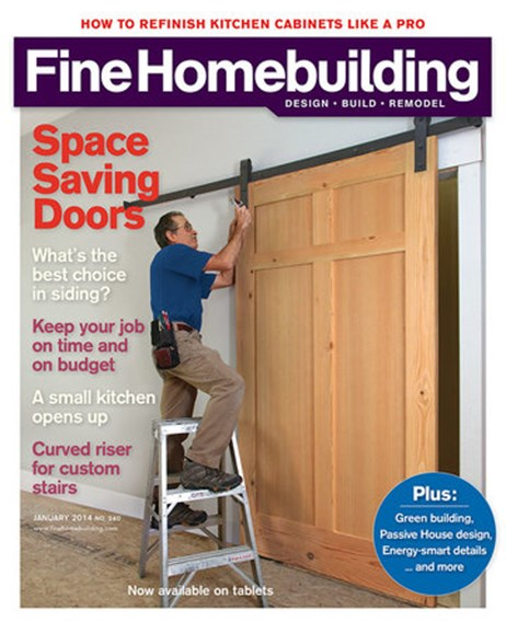 Fine Homebuilding Cover - 1/1/2014