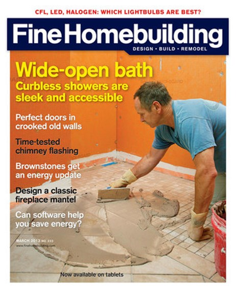 Fine Homebuilding Cover - 3/1/2013