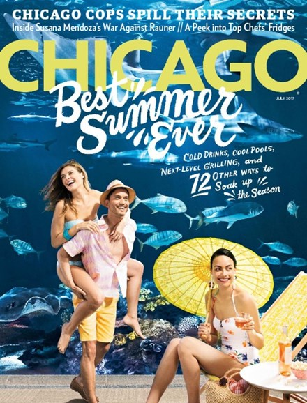 Chicago Magazine Cover - 7/1/2017