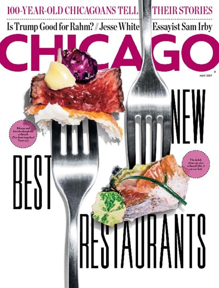 Chicago Magazine Cover - 5/1/2017