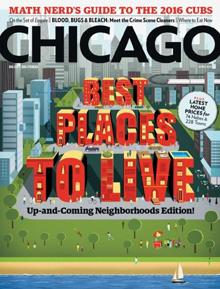 Chicago Magazine Cover - 4/1/2016