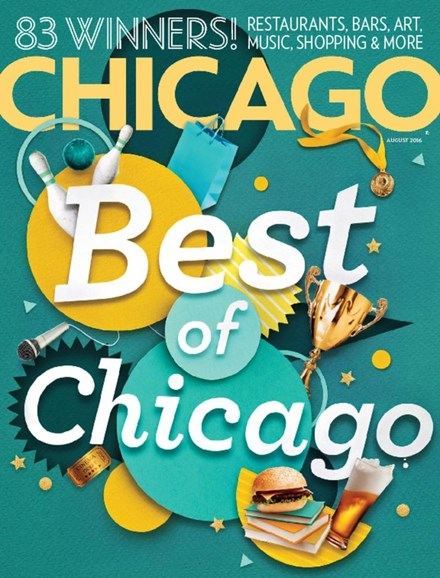 Chicago Magazine Cover - 8/1/2016