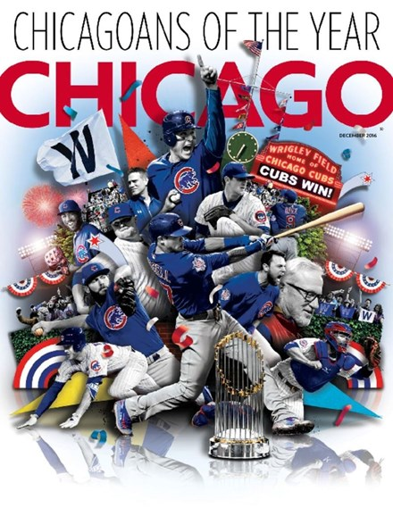 Chicago Magazine Cover - 12/1/2016