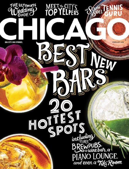 Chicago Magazine Cover - 2/1/2016