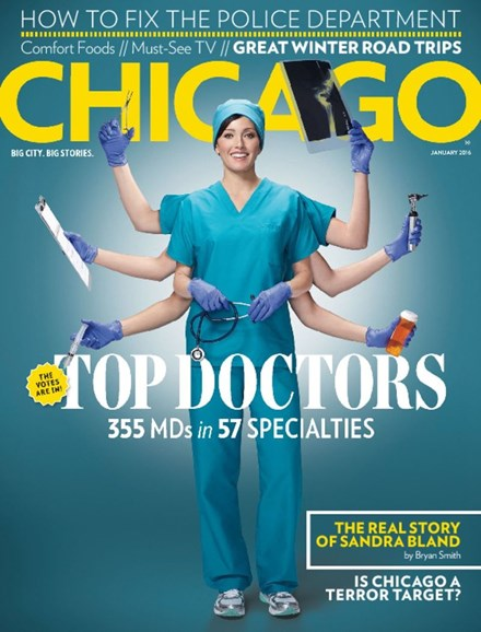 Chicago Magazine Cover - 1/1/2016