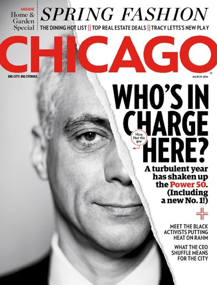 Chicago Magazine Cover - 3/1/2016