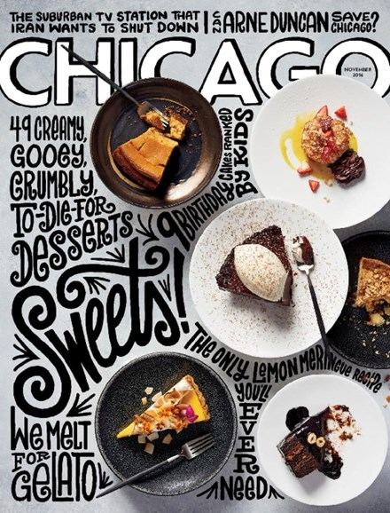 Chicago Magazine Cover - 11/1/2016