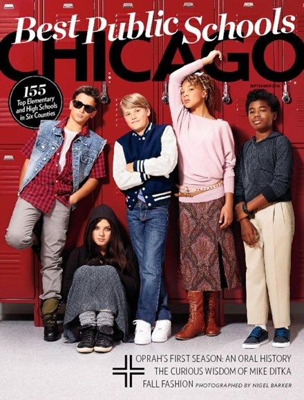 Chicago Magazine Cover - 9/1/2016