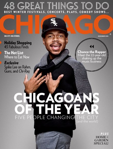Chicago Magazine Cover - 12/1/2015