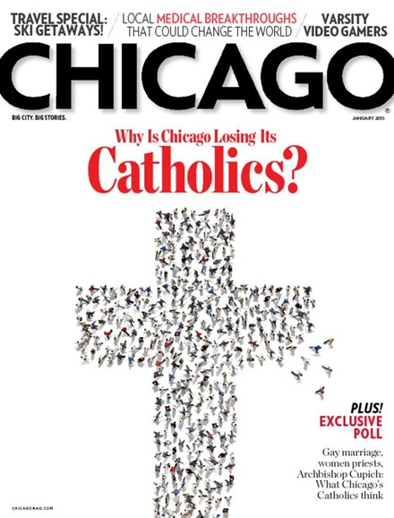 Chicago Magazine Cover - 1/1/2015