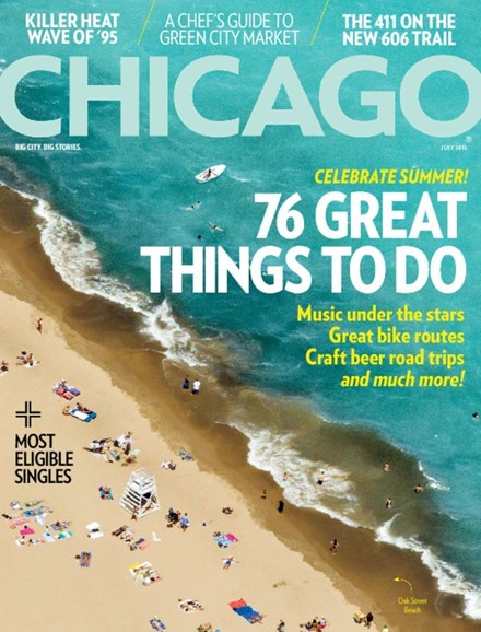 Chicago Magazine Cover - 7/1/2015
