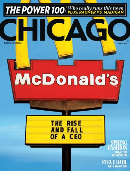 Chicago Magazine Cover - 3/1/2015