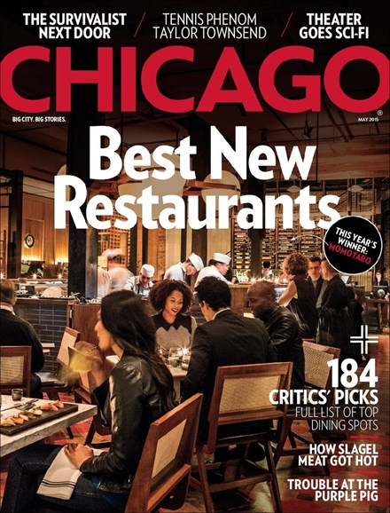 Chicago Magazine Cover - 5/1/2015