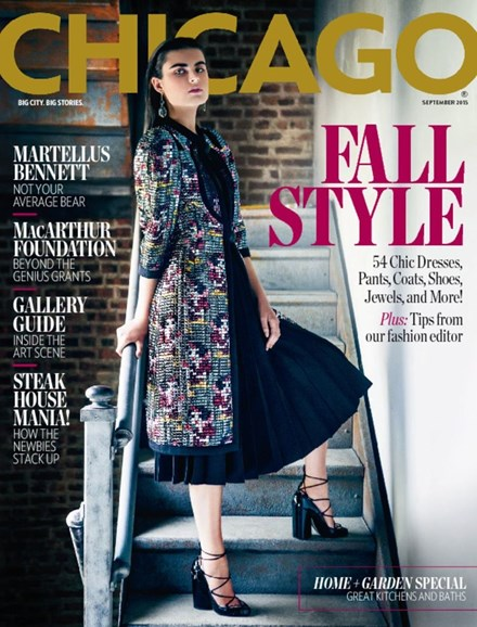 Chicago Magazine Cover - 9/1/2015