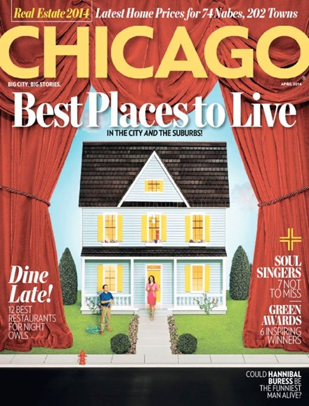 Chicago Magazine Cover - 4/1/2014