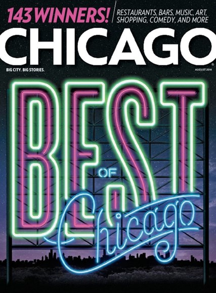 Chicago Magazine Cover - 8/1/2014