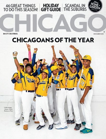 Chicago Magazine Cover - 12/1/2014