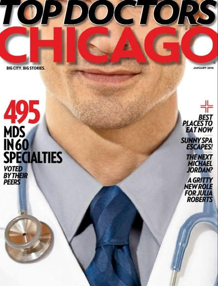 Chicago Magazine Cover - 1/1/2014