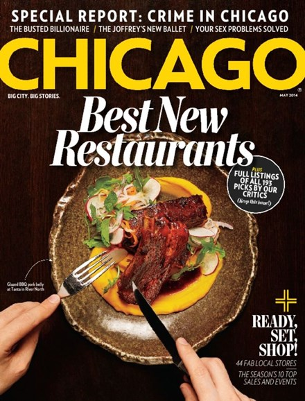 Chicago Magazine Cover - 5/1/2014