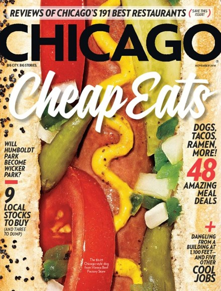 Chicago Magazine Cover - 11/1/2014