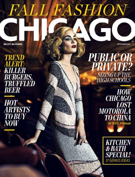 Chicago Magazine Cover - 9/1/2014