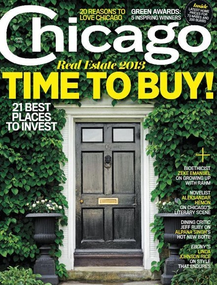 Chicago Magazine Cover - 4/1/2013