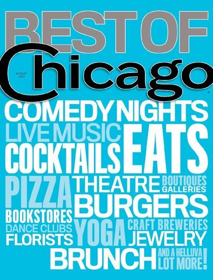 Chicago Magazine Cover - 8/1/2013