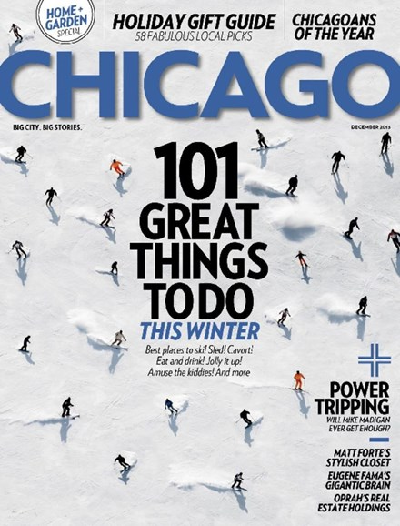 Chicago Magazine Cover - 12/1/2013