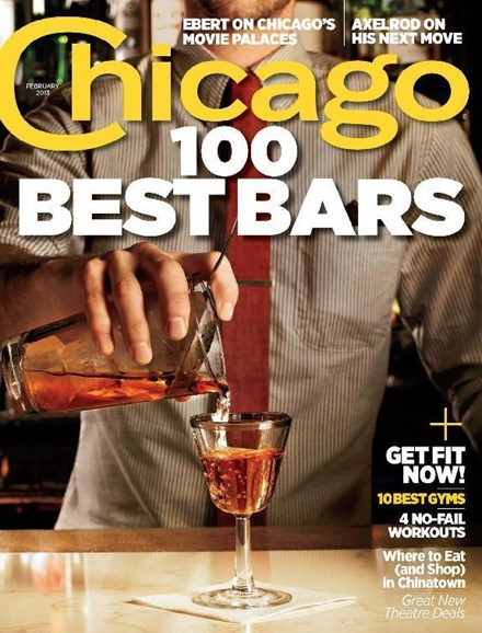 Chicago Magazine Cover - 2/1/2013