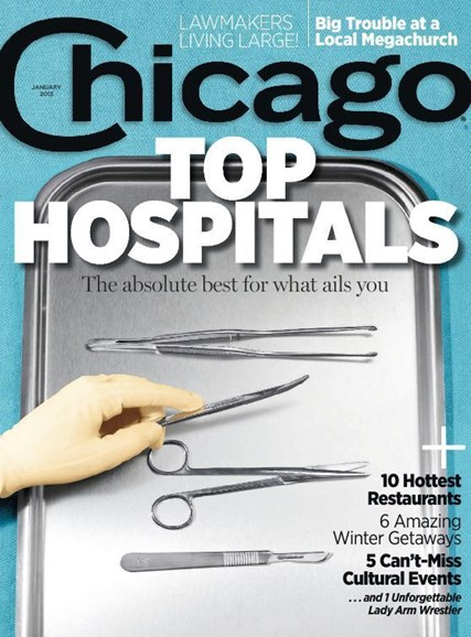 Chicago Magazine Cover - 1/1/2013