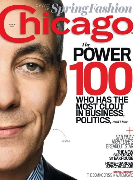 Chicago Magazine Cover - 3/1/2013