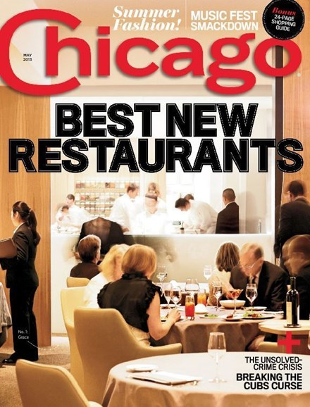 Chicago Magazine Cover - 5/1/2013