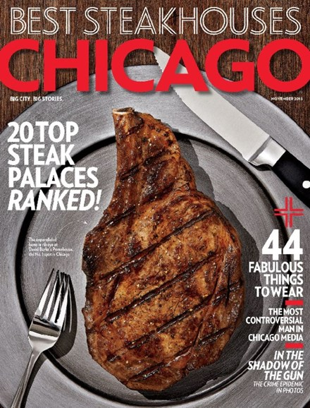 Chicago Magazine Cover - 11/1/2013