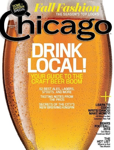Chicago Magazine Cover - 9/1/2013