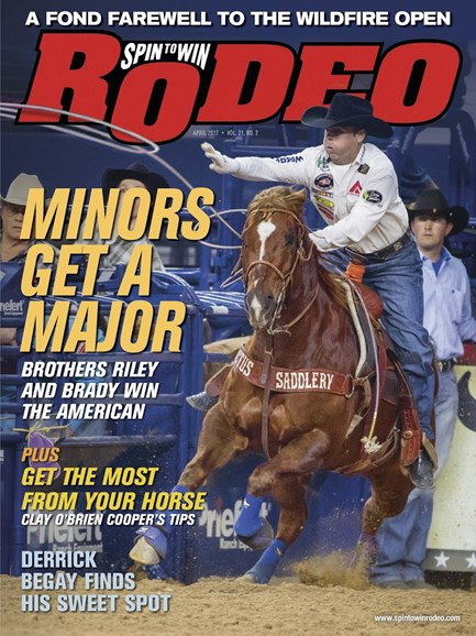 The Team Roping Journal Cover - 4/1/2017