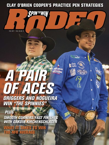 The Team Roping Journal Cover - 2/1/2017