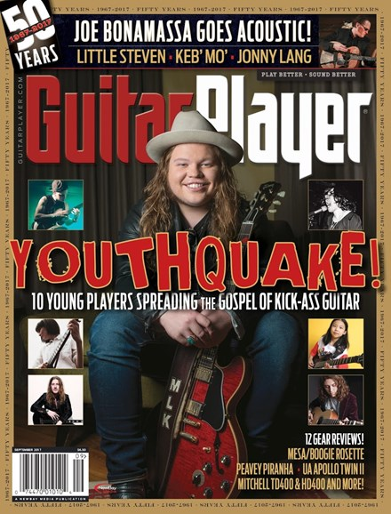 Guitar Player Cover - 9/1/2017