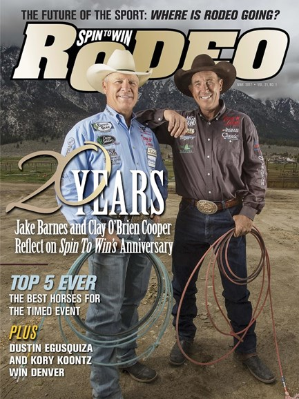 The Team Roping Journal Cover - 3/1/2017