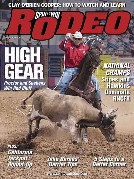 The Team Roping Journal Cover - 6/1/2017