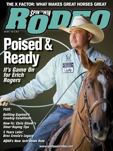The Team Roping Journal Cover - 7/1/2017