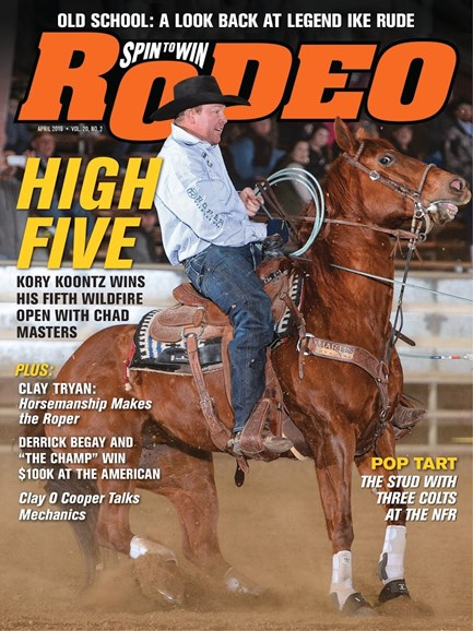 The Team Roping Journal Cover - 4/1/2016