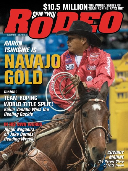 The Team Roping Journal Cover - 1/1/2016
