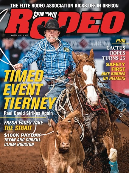 The Team Roping Journal Cover - 5/1/2016