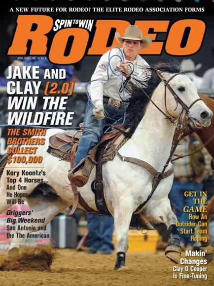 The Team Roping Journal Cover - 4/1/2015