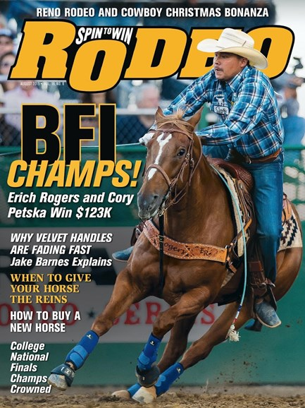 The Team Roping Journal Cover - 8/1/2015