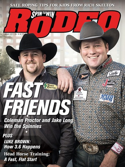 The Team Roping Journal Cover - 2/1/2015