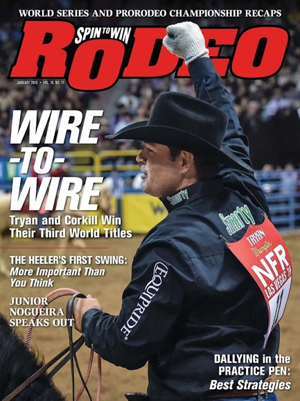 The Team Roping Journal Cover - 1/1/2015