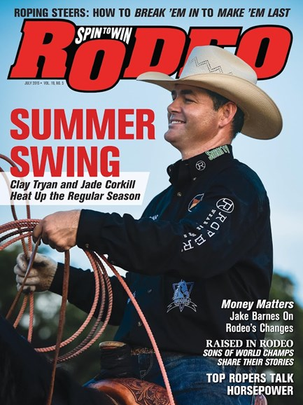 The Team Roping Journal Cover - 7/1/2015