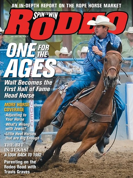 The Team Roping Journal Cover - 6/1/2015